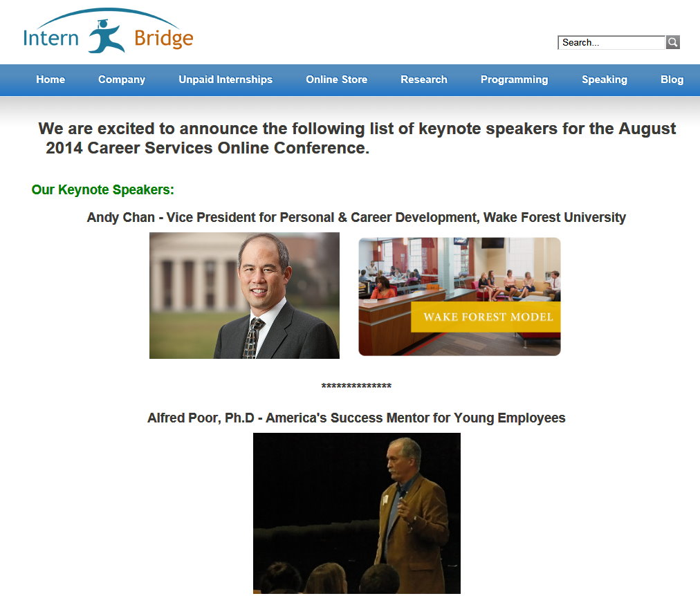 Intern Bridge Keynotes page crop