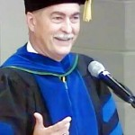 Alfred cap and gown crop enhance